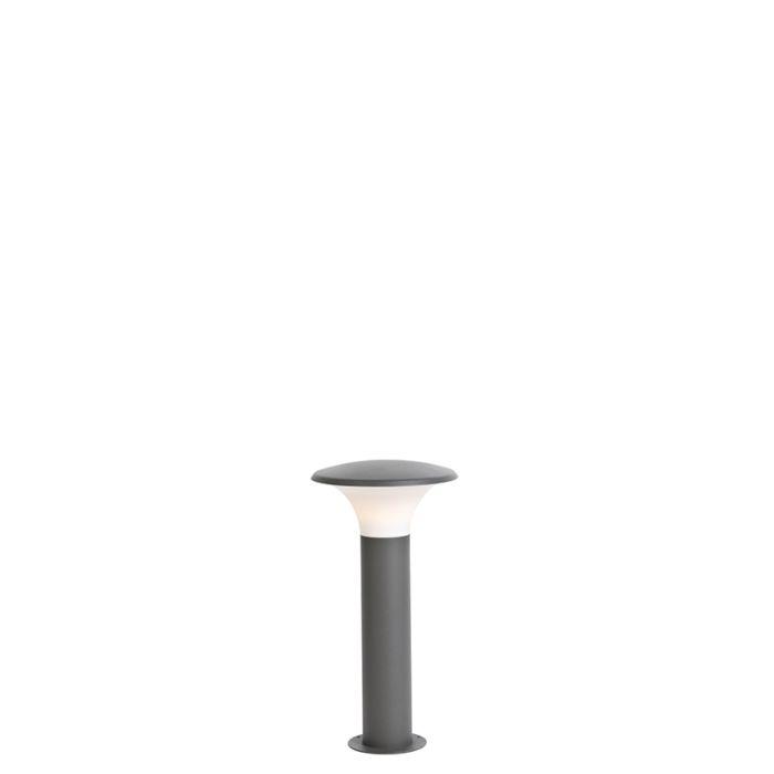 Moderne-Außenleuchte-dunkelgrau-50cm-inkl.-LED---Papi