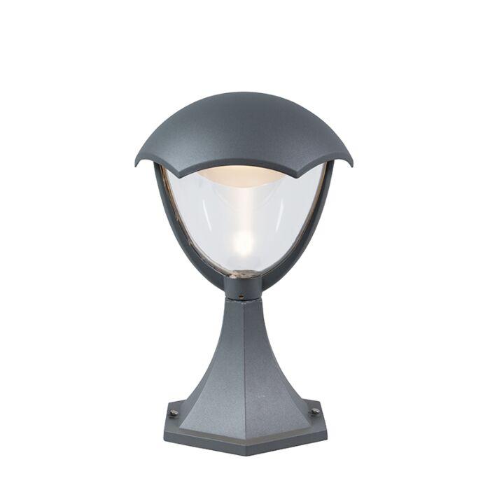 Moderne-Außenleuchte-Aluminium-31cm-inkl.-LED---Cappe