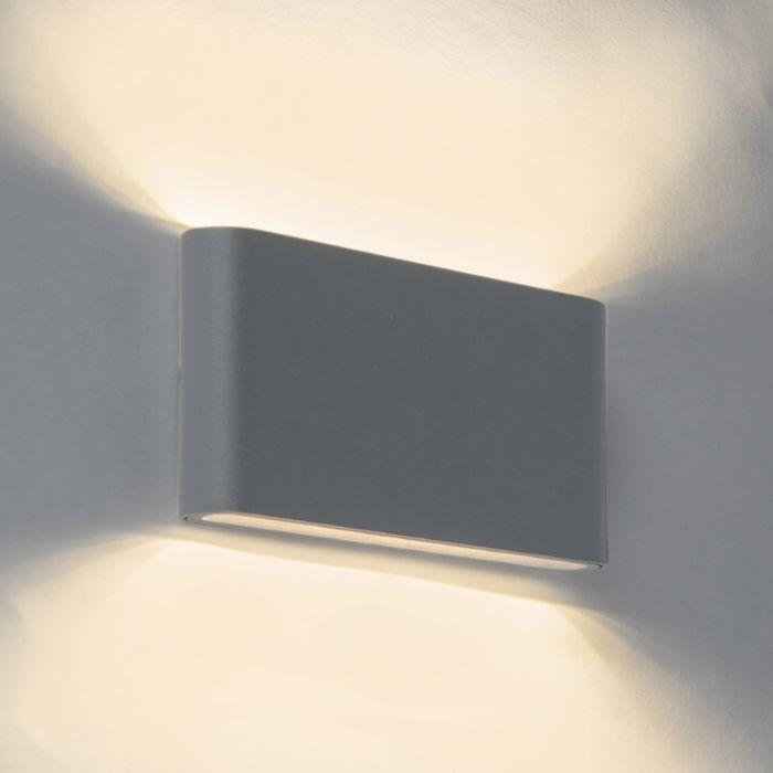 Wandleuchte-Batt-LED-17,5-cm-schwarz
