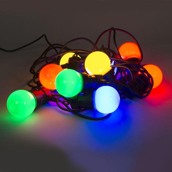 Farbige-Partylichterkette-10-LEDs-4,5-Meter