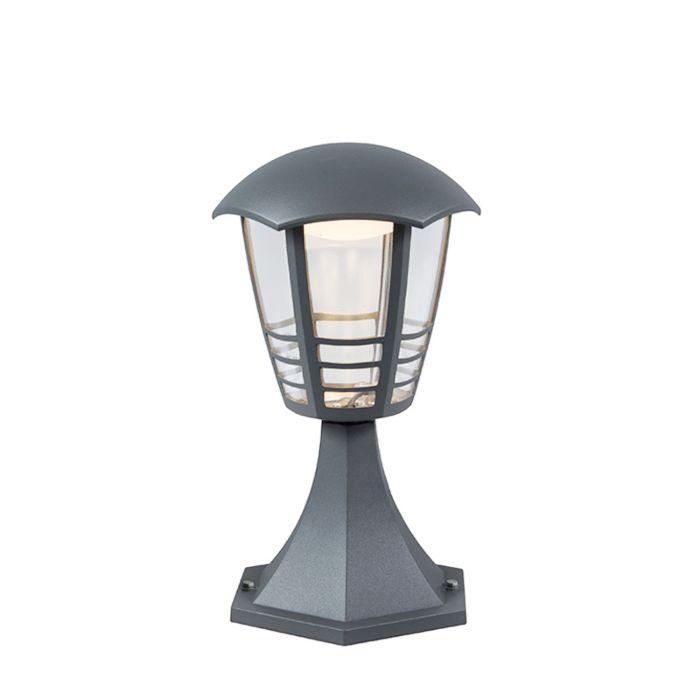 Moderne-Außenleuchte-dunkelgrau-30cm-inkl.-LED---Mara