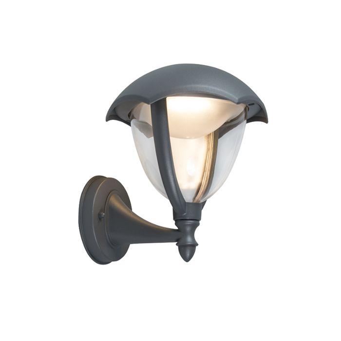 Moderne-Außenwandleuchte-aus-Aluminium-inkl.-LED---Cappe