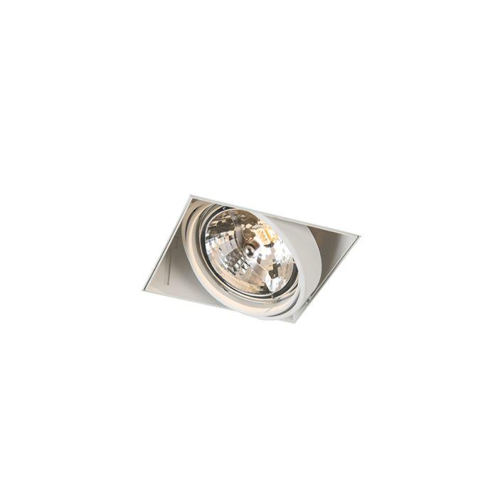 Einbaupunkt-weiß-drehbar-und-kippbar-trimmlos-1-Licht---Oneon-111-1