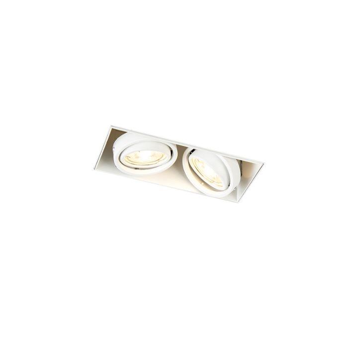 Vertiefter-Fleck-weiß-drehbar-und-kippbar,-trimmlos---Oneon-2