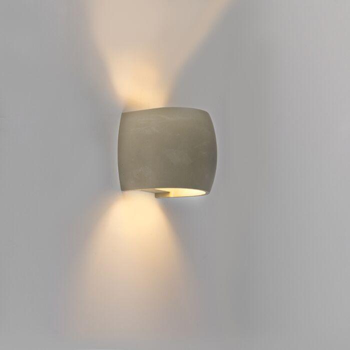 Rural-konvexe-Außenwandleuchte-IP54-inkl.-LED---Albufeira