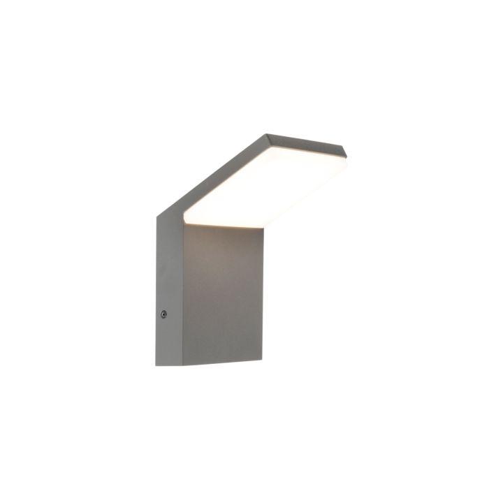 Moderne-Wandaußenleuchte-dunkelgrau-inkl.-LED---Mapi