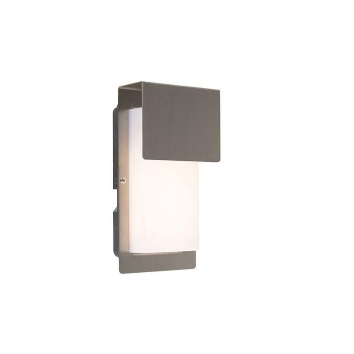 Design-Außenwandleuchte-Stahl-inkl.-LED-IP44---Bink-1