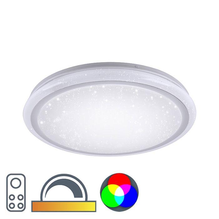 Deckenleuchte-27W-RGBK-weiß---Ment