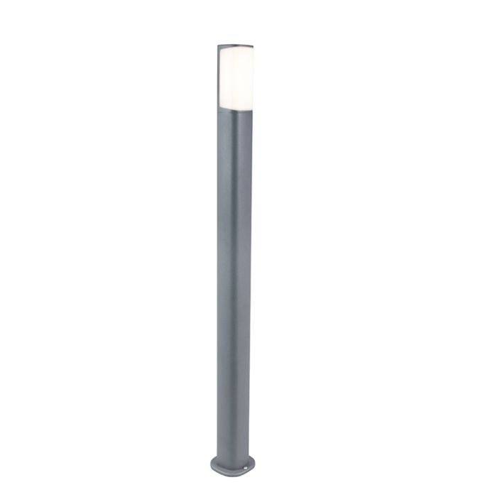 Moderne-Außenleuchte-dunkelgrau-100cm-inkl.-LED---Rico