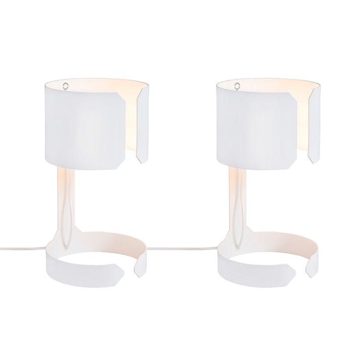 2er-Set-Design-Tischlampen-weiß---Waltz
