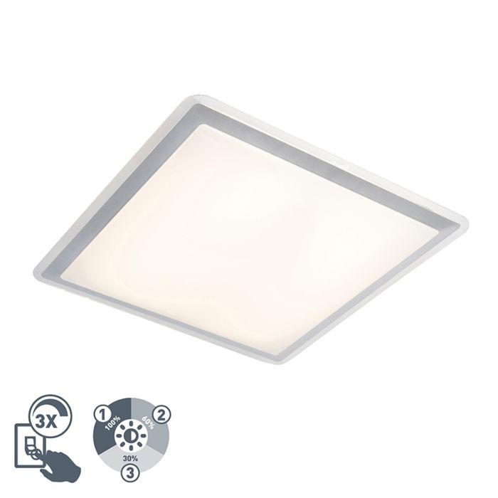 Moderner-LED-Panel-Stahl-inkl.-LED-und-Dimmer---Lab