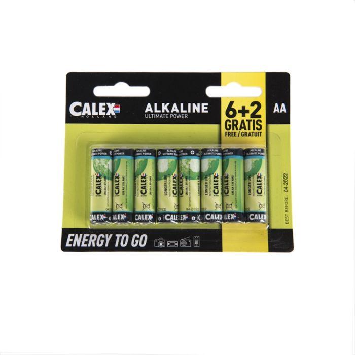 8-Pack-AA-Batterien---Penlite-Alkaline-Longlife