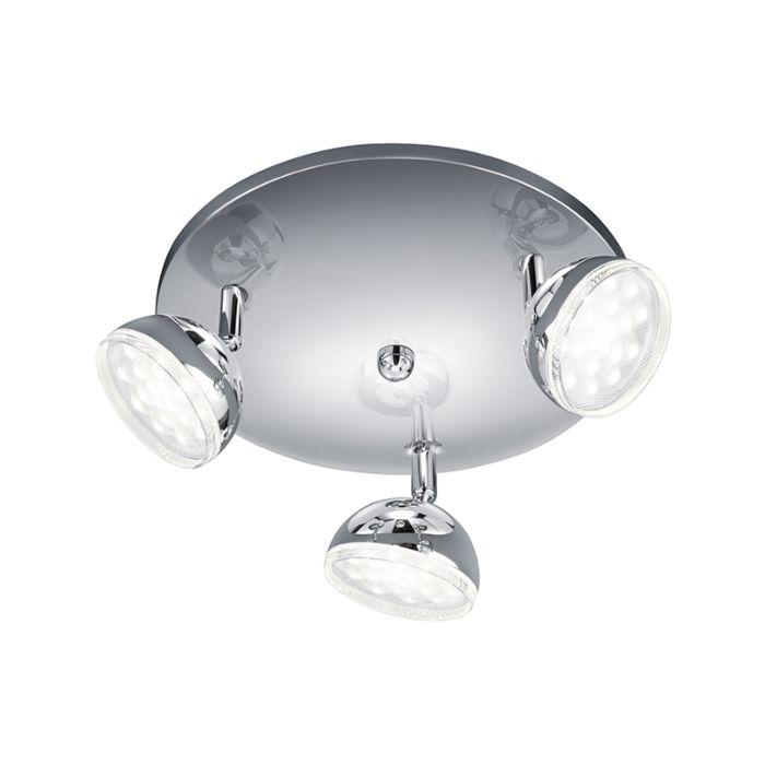 Moderner-Rundstrahler-Chrom-inkl.-LED---Bolou