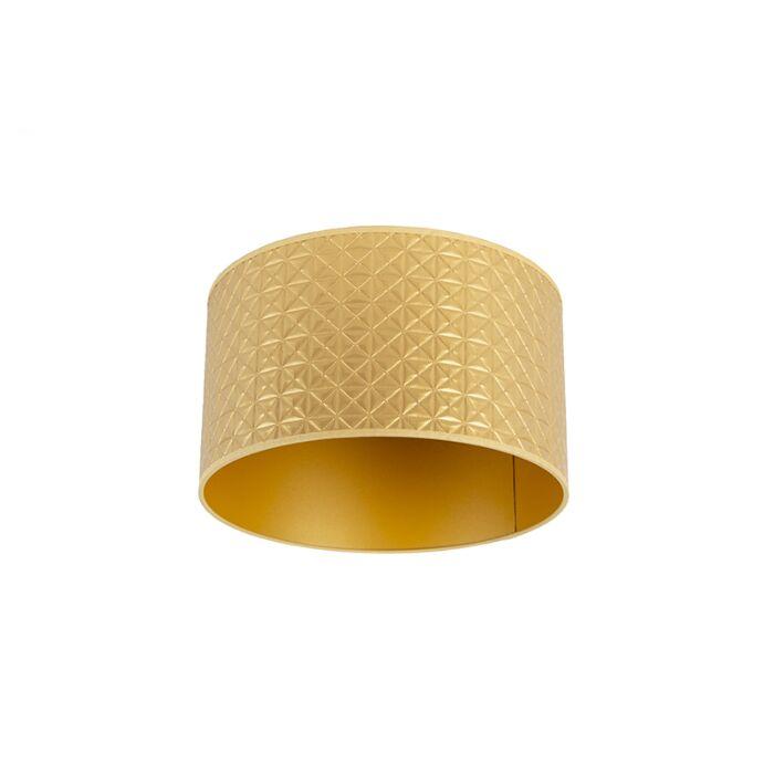Lampenschirm-Gold-35/35/20-Dreieck-Design