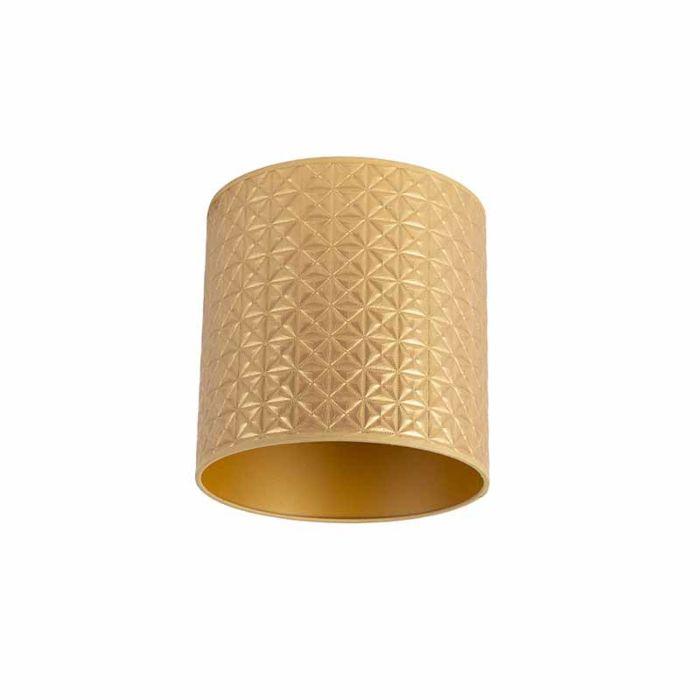 Lampenschirm-Gold-25/25/25-Dreiecksmuster