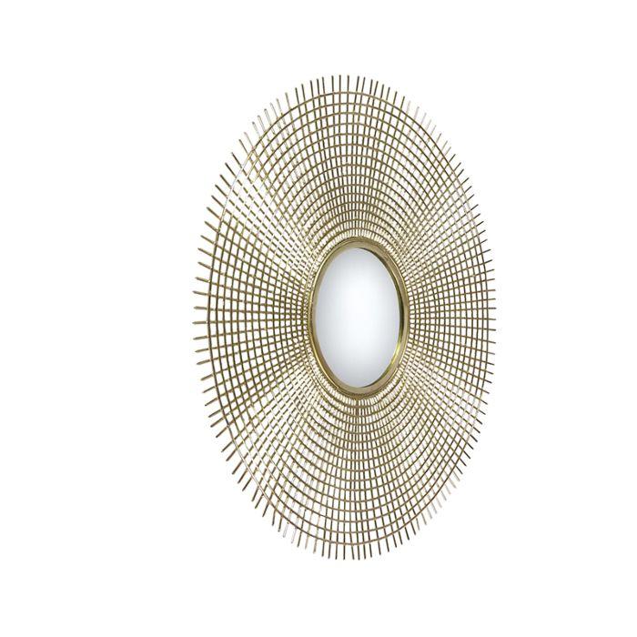 Art-Deco-Rundspiegel-78-cm-Gold---Edda
