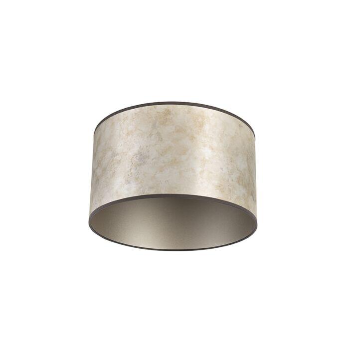 Lampenschirm-Silber-35/35/20