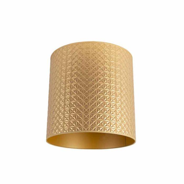 Lampenschirm-Gold-40/40/40-Dreiecksmuster