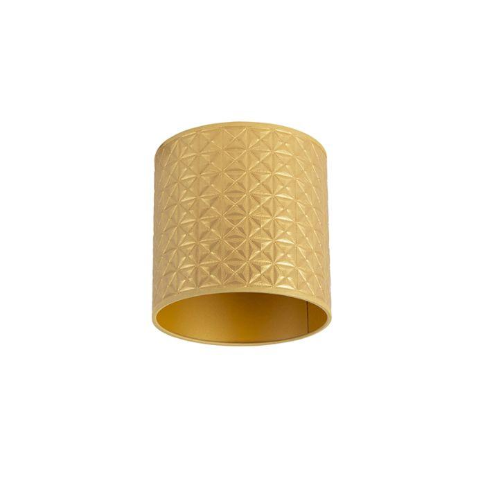 Lampenschirm-Gold-20/20/20-Dreieck-Design