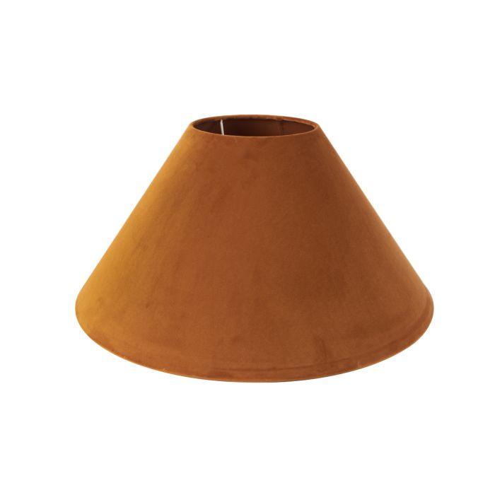 Lampenschirm-Velours-50-/-17.5-/-25-Kürbisgewürz