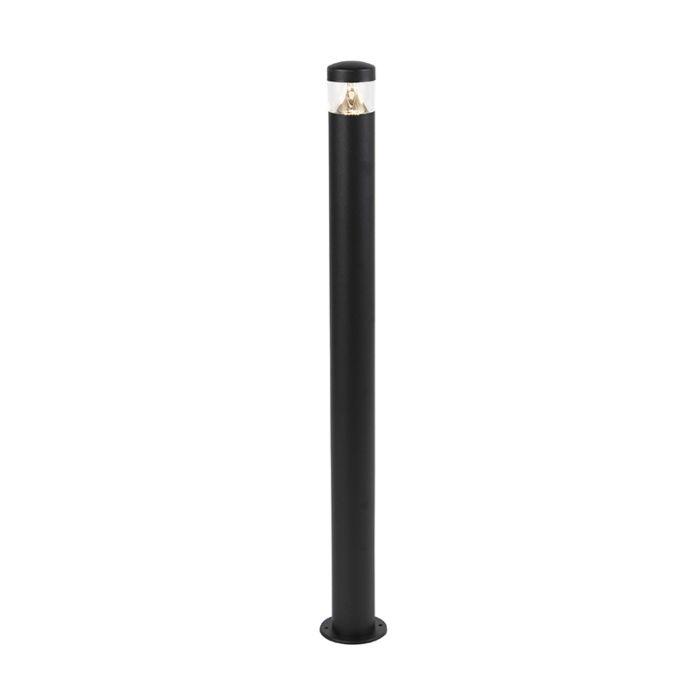 Moderne-Außenleuchte-schwarz-100-cm-IP44-inkl.-LED---Roxy