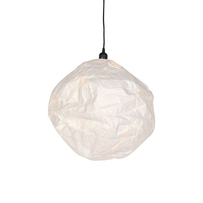 Skandinavische-Hängelampe-weiß---Pepa-Ball