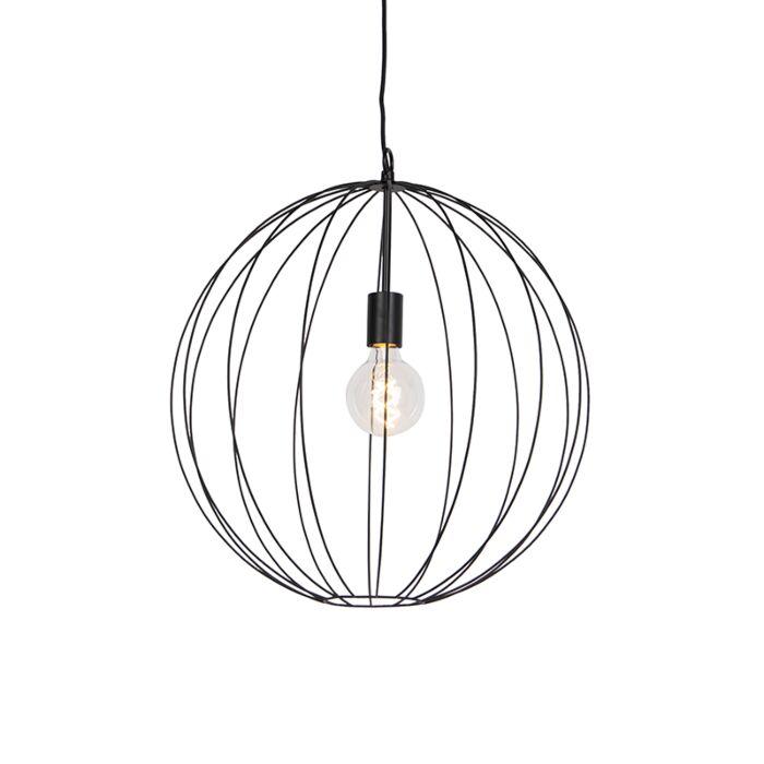 Design-runde-Hängelampe-schwarz-50-cm---Pelotas