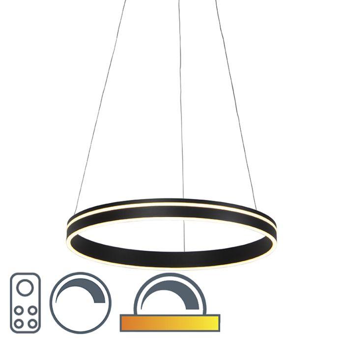 Moderne-Hängelampe-anthrazit-bis-warm-inkl.-LED---Ronith